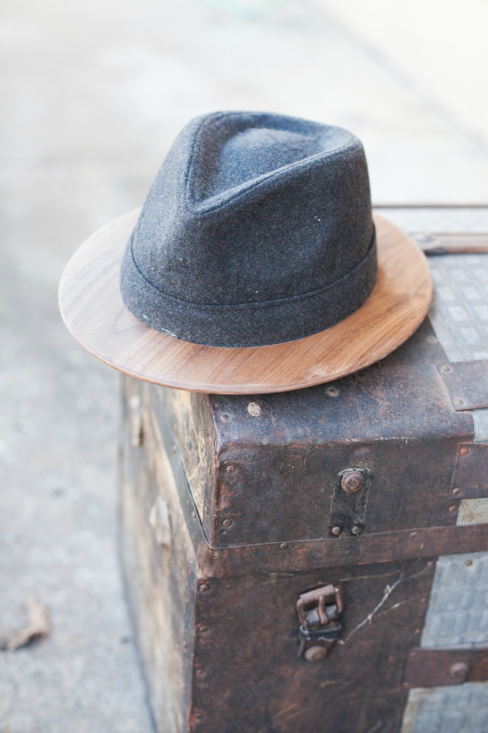 ee5f2b7b6e7 We re in the business of creating things that last and our new wood brimmed  fedora is no different.
