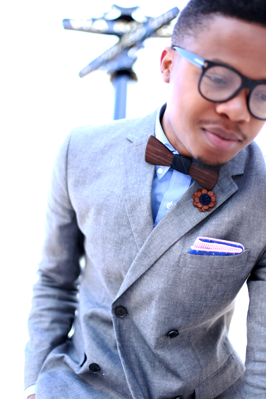 styling two guys bow ties  garcon a la mode