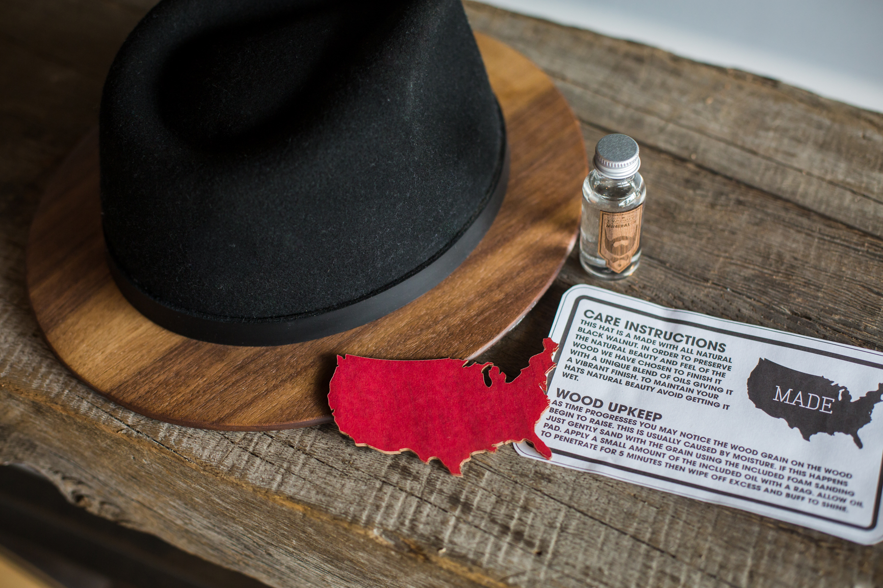 6cf03b53071 NEW Product  Wood-Brimmed Fedoras. Posted by Two Guys ...