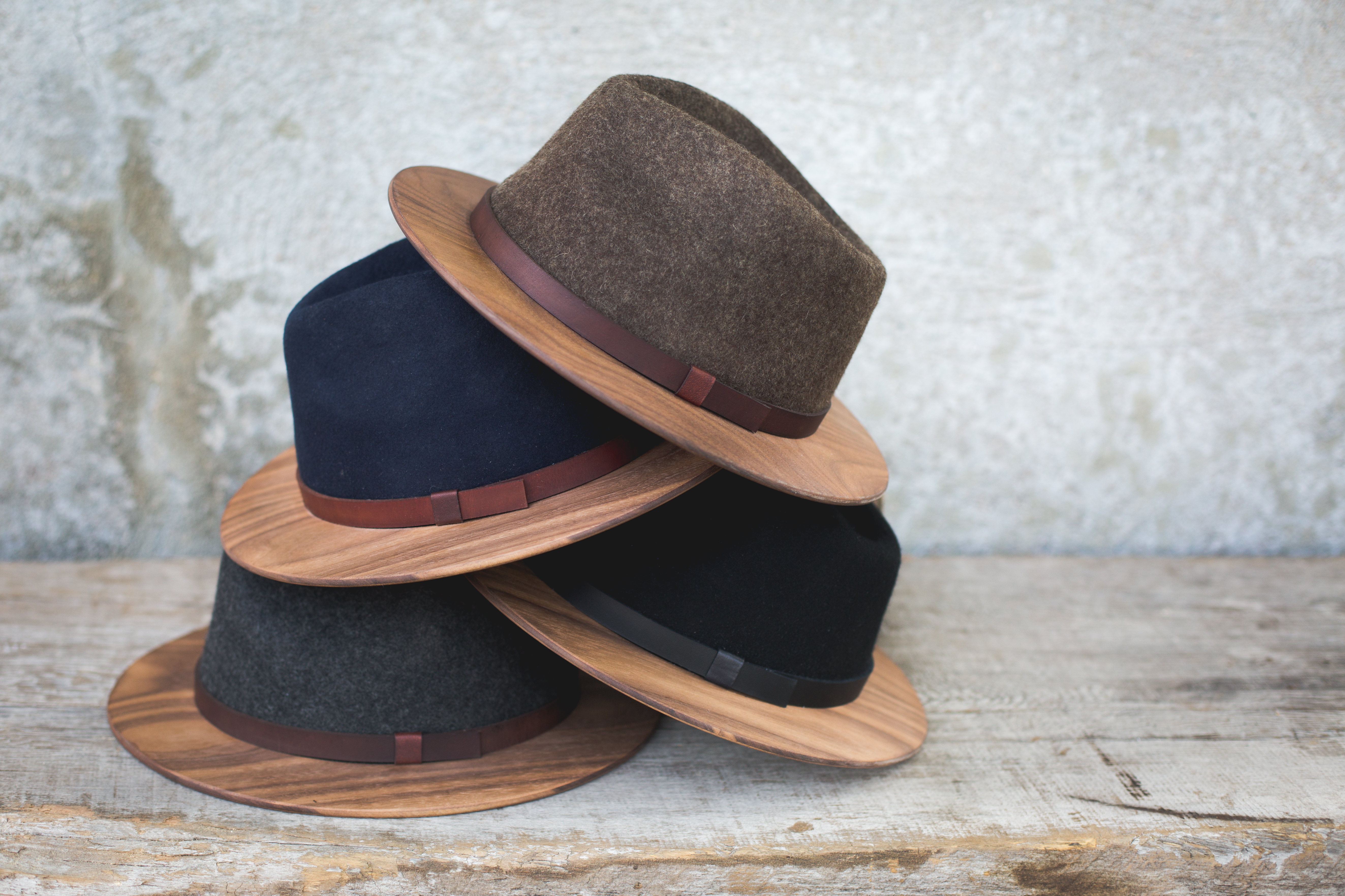 NEW Product  Wood-Brimmed Fedoras - Two Guys Bow Ties 73ad283a733d