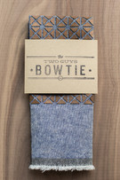 Walnut Geo - Blue Chambray