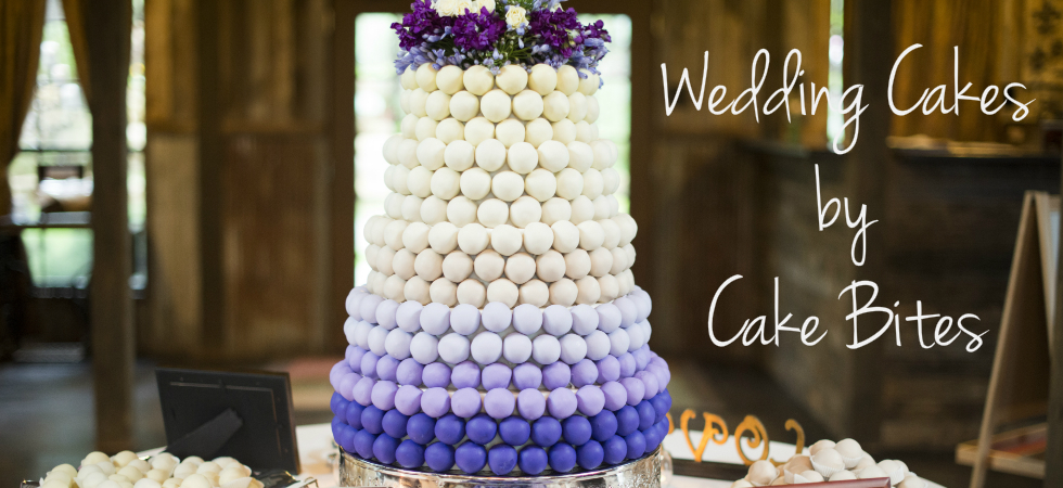 cake ball wedding cake