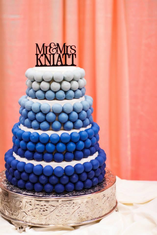 Custom Cake Bites Gallery
