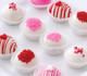 Valentine's Day cake balls