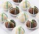 Beautiful lily cake balls