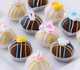 Baby themed cake balls