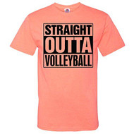 Image Sport Straight Outta Volleyball Volleyball T-Shirt