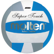 Molten IV58L Super Touch Volleyball (Royal/Silver/White)