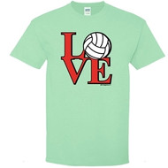 Image Sport LOVE Volleyball T-Shirt