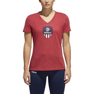 Adidas Women's USAV Graphic Tee
