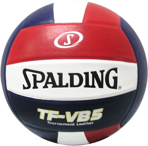 Spalding Tf Vb5 Tournament Leather Volleyball Real