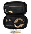 Beige Headset Microphone for Shure Wireless System