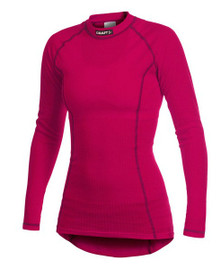 Craft Pro Zero Crewnexck L/S WOMENS Cherry/2 Colors