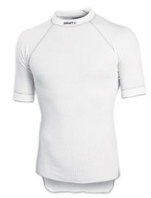 CRAFT PRO ZERO CREWNECK SHORT SLEEVE MENS WHITE
