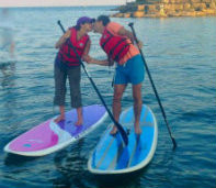 Stand Up Paddle Board Lesson in Toronto, Ontario, Canada.  SUP lessons also in Mississauga, Burlington, Oakville, Pickering.