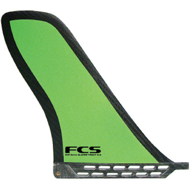 FCS Slater Trout finPerfect fin for SUP buoy turns.