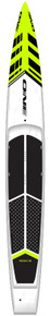 """USED ONE SUP ULTRALITE CARBON EDGE PRO 14' x 21"""" DROP DECK"""