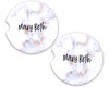 Personalized Car Coaster - Marble