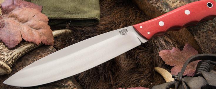 Bark River Knives: Canadian Camp Knife II - CPM 3V