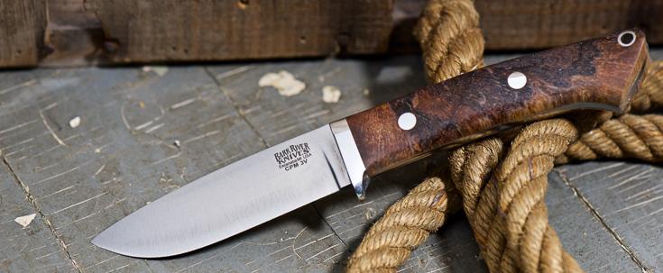 Bark River Knives: Classic Drop Point Hunter - CPM 3V