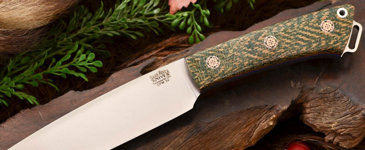 Bark River Knives: Fox River II LT - CPM 3V