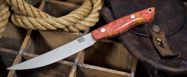 Bark River Knives: Kalahari Mini-Sportsman