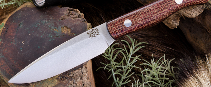 Bark River Knives: Kalahari Thorn