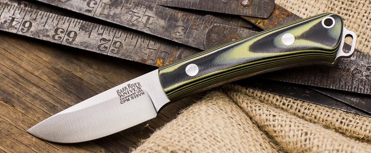 Bark River Knives: Mini-Fox River - CPM S35Vn