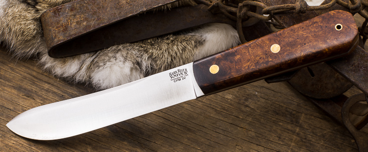 "Bark River Knives: Mountain Man 5"" - CPM 3V"