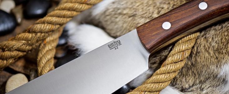 Bark River Knives: Pro Series Brush Knife