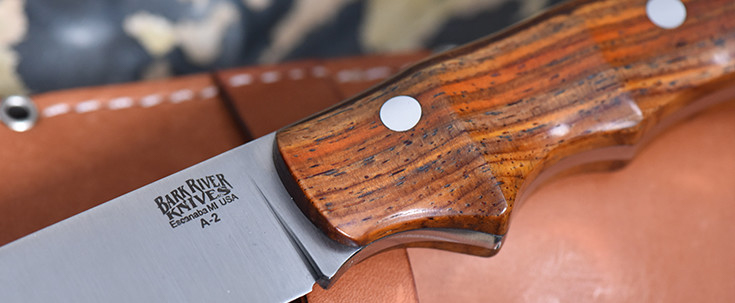 Bark River Knives: Trakker Companion