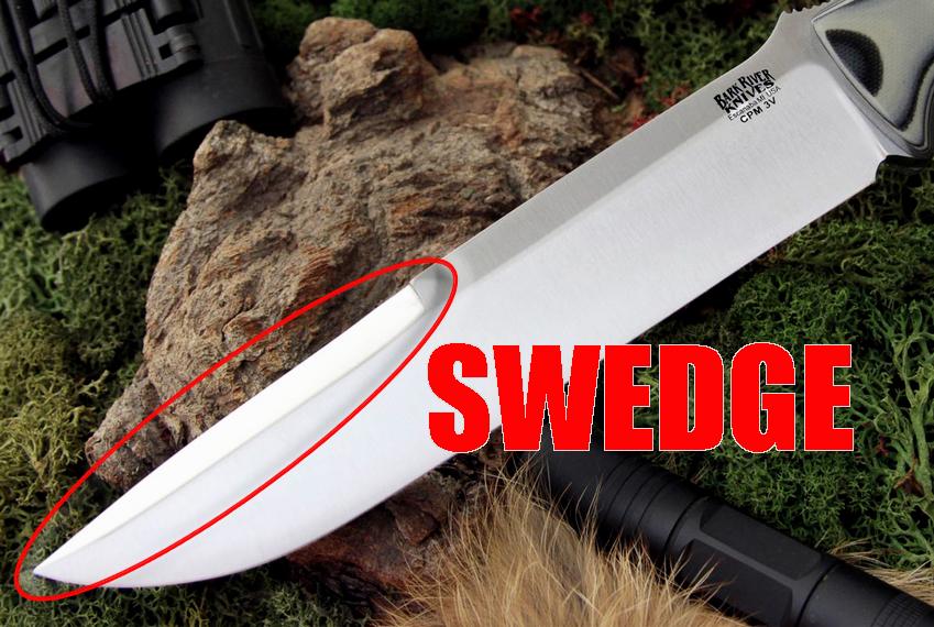 Swedged Blade