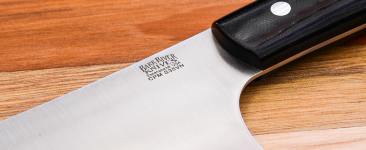 kitchen knives european cutlery bark river