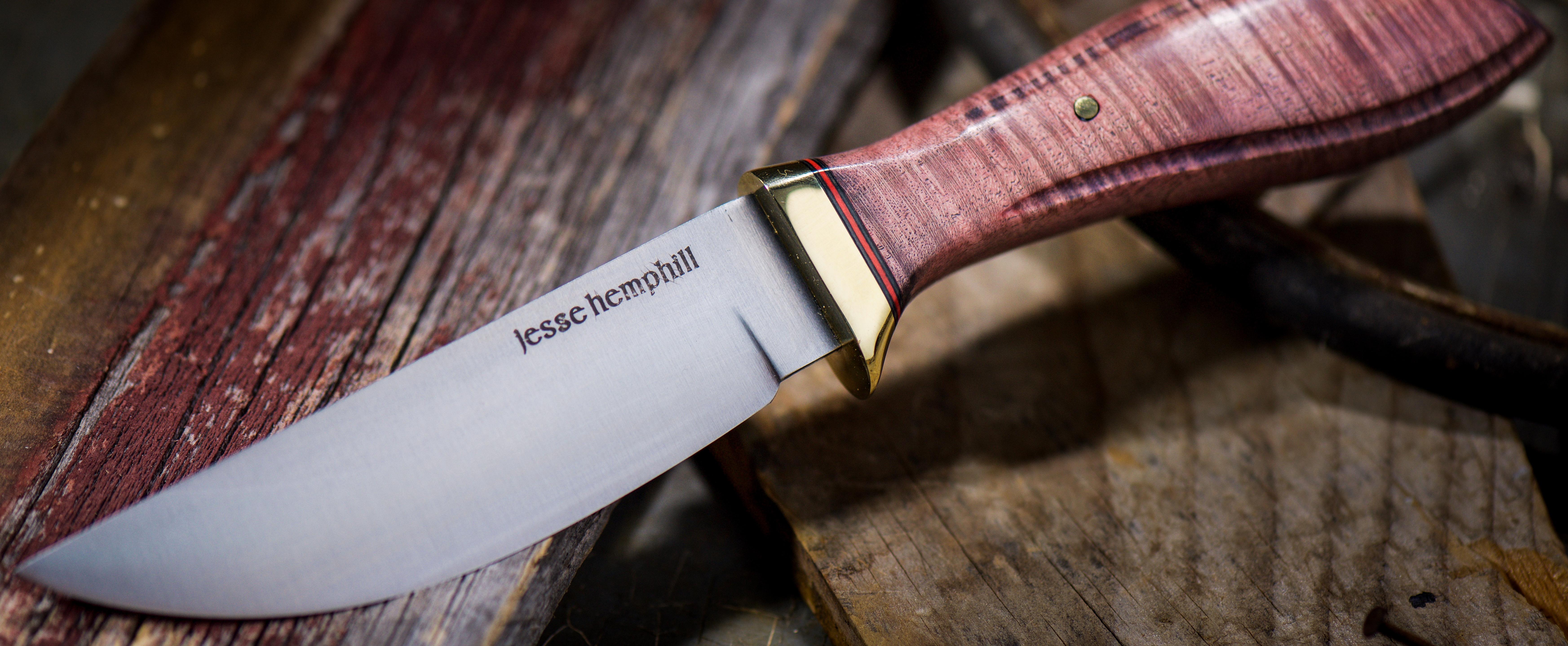 Jesse Hemphill Knives - Point Rock