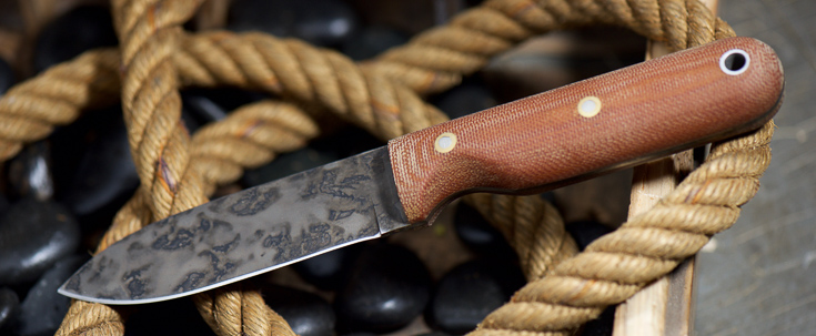 L.T Wright Knives - Bushcrafter