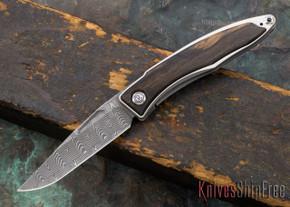 Chris Reeve Knives: Mnandi - Macassar Ebony - Basketweave Damascus - 030620