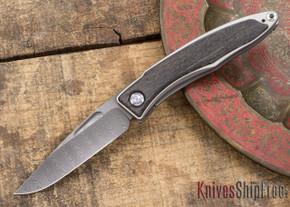 Chris Reeve Knives: Mnandi - Bog Oak - Ladder Damascus - 031501