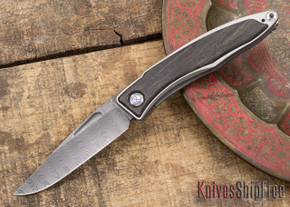 Chris Reeve Knives: Mnandi - Bog Oak - Ladder Damascus - 031504