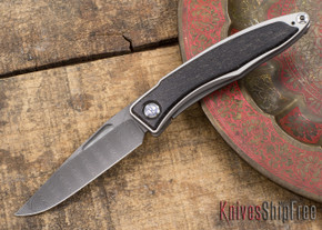 Chris Reeve Knives: Mnandi - Bog Oak - Ladder Damascus - 031506