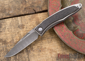 Chris Reeve Knives: Mnandi - Bog Oak - Ladder Damascus - 031508