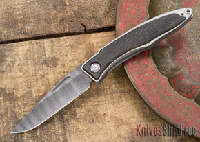 Chris Reeve Knives: Mnandi - Bog Oak - Ladder Damascus - 031509