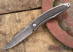 Chris Reeve Knives: Mnandi - Bog Oak - Ladder Damascus - 031510