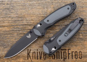 Benchmade Knives: 590BK Boost - Assisted Opening - Black Blade