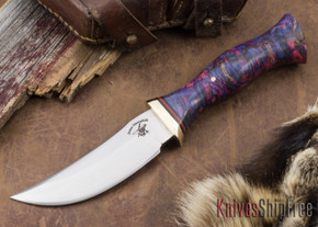Jesse Hemphill Knives: High Falls II Special - Galaxy Burl