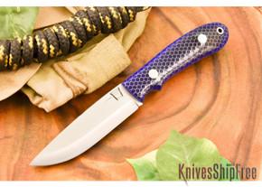 Hyken Knives: Bushcrafter CPM-154 - Blue C-Tek