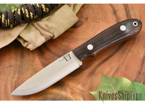 Hyken Knives: Bushcrafter CPM-154 - Macassar Ebony #2