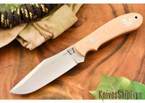 Hyken Knives: Harpoon CPM-154 - Antique Ivory Micarta
