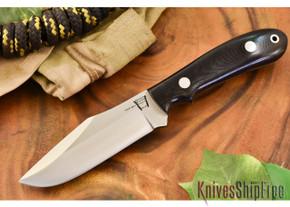 Hyken Knives: Harpoon CPM-154 - Black G-10