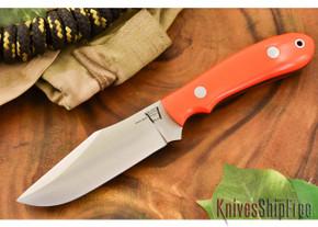 Hyken Knives: Harpoon CPM-154 - Blaze Orange G-10 - Black Liners