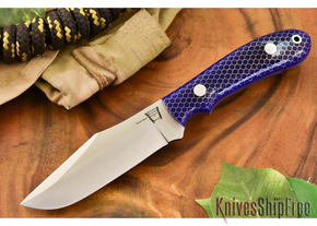 Hyken Knives: Harpoon CPM-154 - Blue C-Tek